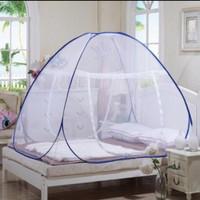 Kelambu Lipat 200x200 Tempat Tidur Anti Nyamuk / Kelambu Tenda Dewasa