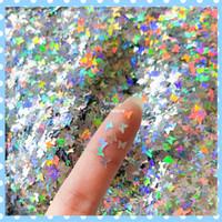 Manik Glitter BUTTERFLY Sprinkle Glitter Nail Art Hiasan Resin GLT-61