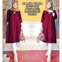 AP Cantika Tunic,Baju atasan muslim wanita muslim termurah terbaru