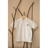 Polo Shirt Anak Little Warren Putih