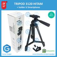 Tripod weifeng WT3120 Murah DSLR Kamera HP Smartphone alt Takara