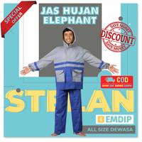 Jas mantel mantol setelan stelan hujan ujan pria wanita gajah elephant