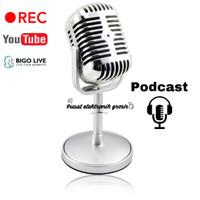 Microphone Mic Classic Design vintage Retro Podcast Rec Pc Laptop