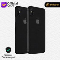 [EXACOAT] iPhone X 3M Skin / Garskin - Black Matte