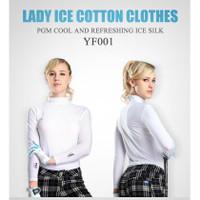 Pgm Kaos T-shirt Golf Lengan Panjang Untuk Wanita