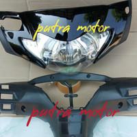 batok kepala depan belakang dan reflektor lampu depan supra x 125 2006