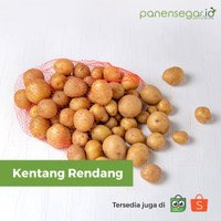 Kentang Rendang 1kg Fresh (Baby Potato) By: Panensegar.id