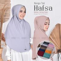 jilbab bergo tali syari khimar bahan jersey