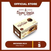 Bakpia Kukus Tugu Jogja Brownies Keju Minipack (5pcs)