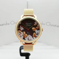 ALEXANDRE CHRISTIE AC 2852LH JAM TANGAN WANITA ORIGINAL GARANSI RESMI - GOLD