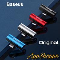 Baseus Adapter Audio 2in1 SPLITTER Dual iOS iPhone Output ORIGINAL