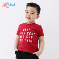 Kaos Anak Laki Laki Umur 1 Tahun Sampai 10 Tahun LilyandClark KLC012