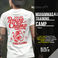 T-Shirt Kaos Muhammad Ali Boxing Camp Deer Lake PA
