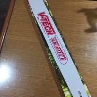 Bar Baja Laser Gergaji Potong Pohn Kayu Chainsaw 22 inch V-TECH VTECH