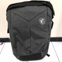 Tas backpack laptop gaming msi original