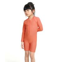 LeeVierra Kids X Bohobaby Baju Renang Anak Diving Unisex - Rust - 0