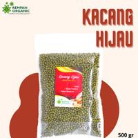 Rempah Organic - Natural Green Beans / Kacang Hijau 500 Gram