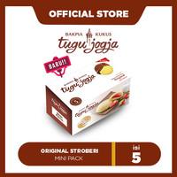Bakpia Kukus Tugu Jogja Original Stroberi Minipack (5pcs)