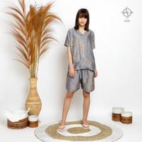 GREET Piyama Wanita/Organic Silk Premium/T-075 (HK - Free size)