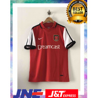 Jersey retro Arsenal 2001 dreamcast asli original garansi uang kembal