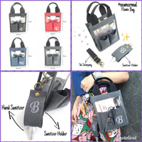 Souvenir Flowie Bag New Normal Bag Totebag Kanvas Tas selempang Custom