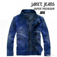 Jaket Jeans Bomber ARIL