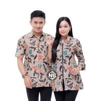Baju Batik Couple Seragam Kerja Z-01