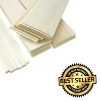 Grade A Kayu balsa sheet 4mm x 10cm x 1meter balsa super kayu maket RC