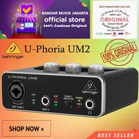 Behringer U-Phoria UM2 AUDIO INTERFACE SOUNDCARD,BMJ