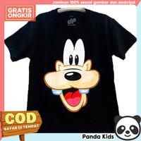 Panda Kids Kaos/ Baju Anak Lengan Pendek Motif Goofy Black