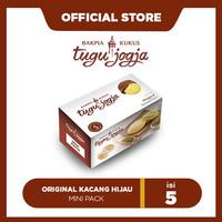 Bakpia Kukus Tugu Jogja Orginal Kacang Hijau Minipack (5pcs)