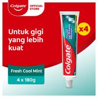 Colgate Pasta Gigi Anti Karang Fresh Cool Mint 180gr - Isi 4
