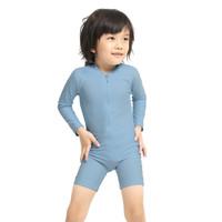 LeeVierra Kids X Bohobaby Baju Renang Anak Diving Unisex - Blue Shadow - 6