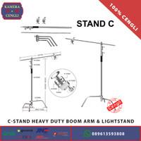 C Stand / C-Stand Heavy Duty Boom Arm & Lightstand - ORIGINAL