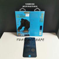 TEMPERED GLASS ANTI SPY RUBBER EDGE KINGKONG IPHONE 6+/6S+/7+/8+ PLUS