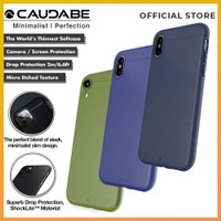 Original Caudabe Sheath Case iPhone Xs Max / Xr / Xs Soft Casing Cover