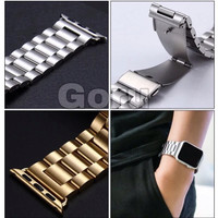 Stainless apple watch strap iwatch 1 2 3 4 5 6 steel milanese