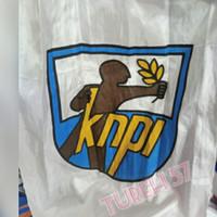 Bendera KNPI /Bendera KNPI bahan abutai 60x90cm