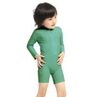 LeeVierra Kids X Bohobaby Baju Renang Anak Model Diving Unisex - Kale - 2