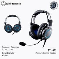 Audio-Technica ATH-G1 Premium Gaming Headset - Black Blue