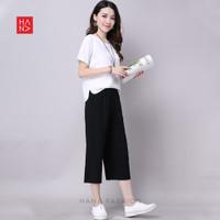 HanaFashion - Maika Pants Celana Kulot Bahan Wanita - LP054