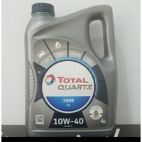 Oli Mesin Mobil Total Quartz7000 10W40 Galon (4 liter)