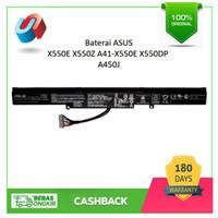 BATERAI | BATRE LAPTOP ASUS X550E X550Z A41-X550E X550DP ORIGINAL