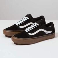 Sepatu Sneakers Pria Vans Old Skool Sol Coklat Black Gum Sepatu Keren