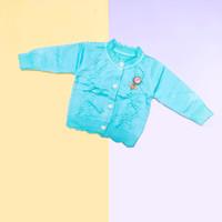 Baju Sweater Rajut Cardigan Atasan Anak Perempuan Import Real Pic No17 - Tosca, SIZE 4