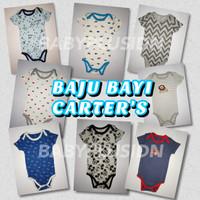 BAJU BAYI ANAK LAKI LAKI JUMPER BABY PENDEK 0 3 BULAN CARTER'S 5 IN 1