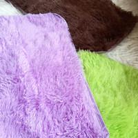 keset bulu halus karpet mirip cendol microfiber rumah dapur kamar top