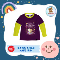 Kaos Anak / Baju Anak / Atasan Anak Perempuan Afrakids (AF217)