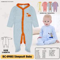 baju bayi Sleepsuit Kaki Tutup Bayi BC-09002 Jumper jumsuit panjang
