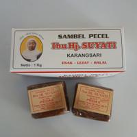 SAMBEL PECEL BU Hj. Suyati Blitar 1kg - Cipta Rasa